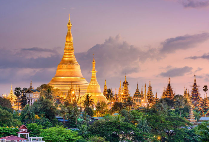 myanmar Shwedagon Pagoda tour package